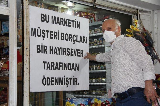 Gizemli hayırsever bu kez Samsun'da ortaya çıktı! Mahallenin borçlarını kapattı