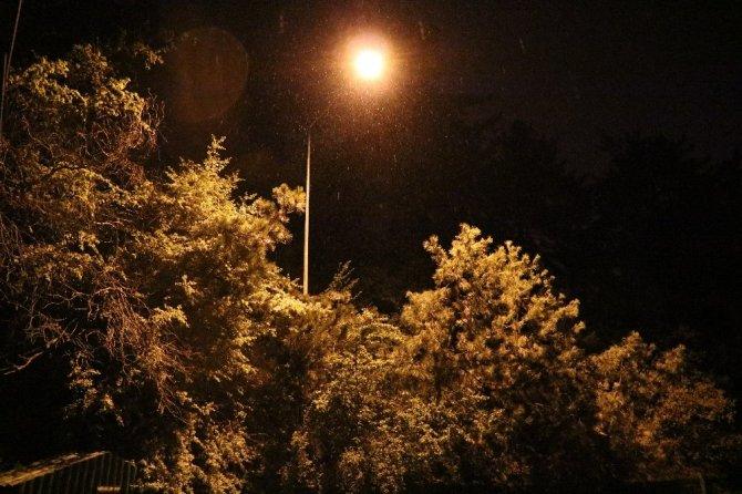 Yozgat iline Mayıs ayında kar yağdı!