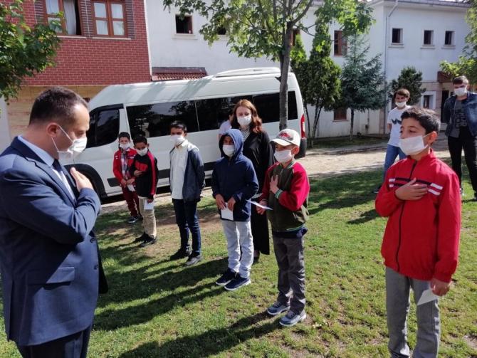 Kız çocuklarından Vali Şentürk'e mektup
