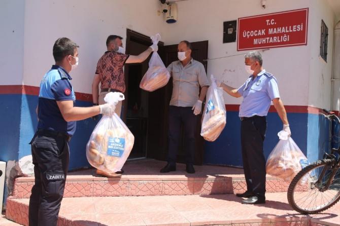 Akdeniz Belediyesi mobil ekipleri bayram süresince görev başında oldu