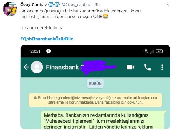 QNB Finansbank reklamı | QNB Finansbank mali müşavir, muhasebe reklamı
