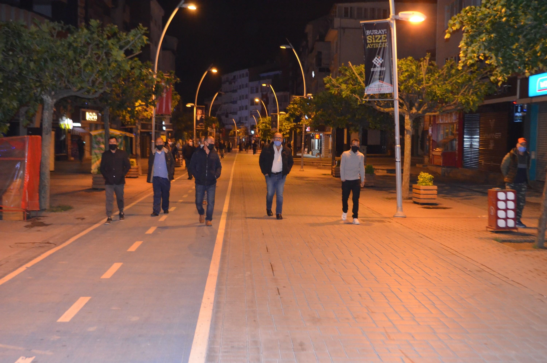 Yasak ilk kez uygulandı! Bolu'da vatandaşlar caddelere akın etti