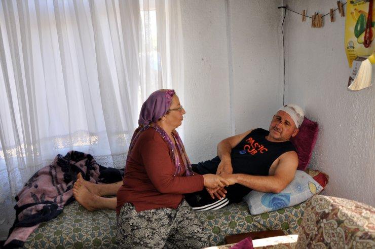 Dayak yediği karı- kocanın kendisine tuzak kurduğunu iddia etti