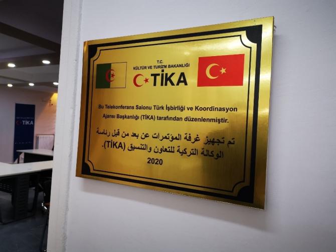 TİKA'dan Cezayir'e teknik destek