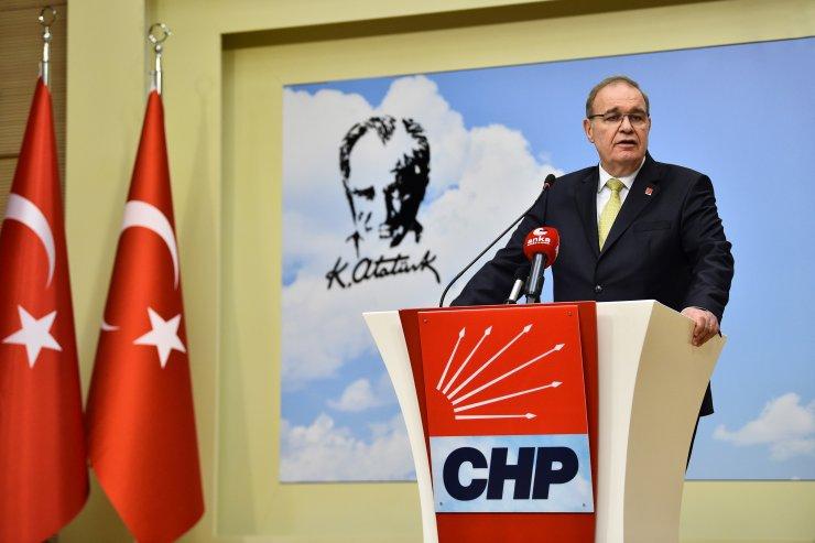 CHP Parti Sözcüsü Faik Öztrak, MYK toplantısına ilişkin açıklama yaptı: