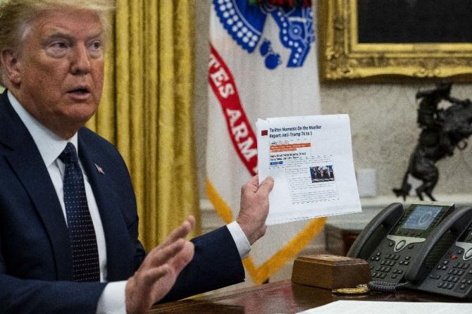 Trump, sosyal medya kararnamesini imzaladı