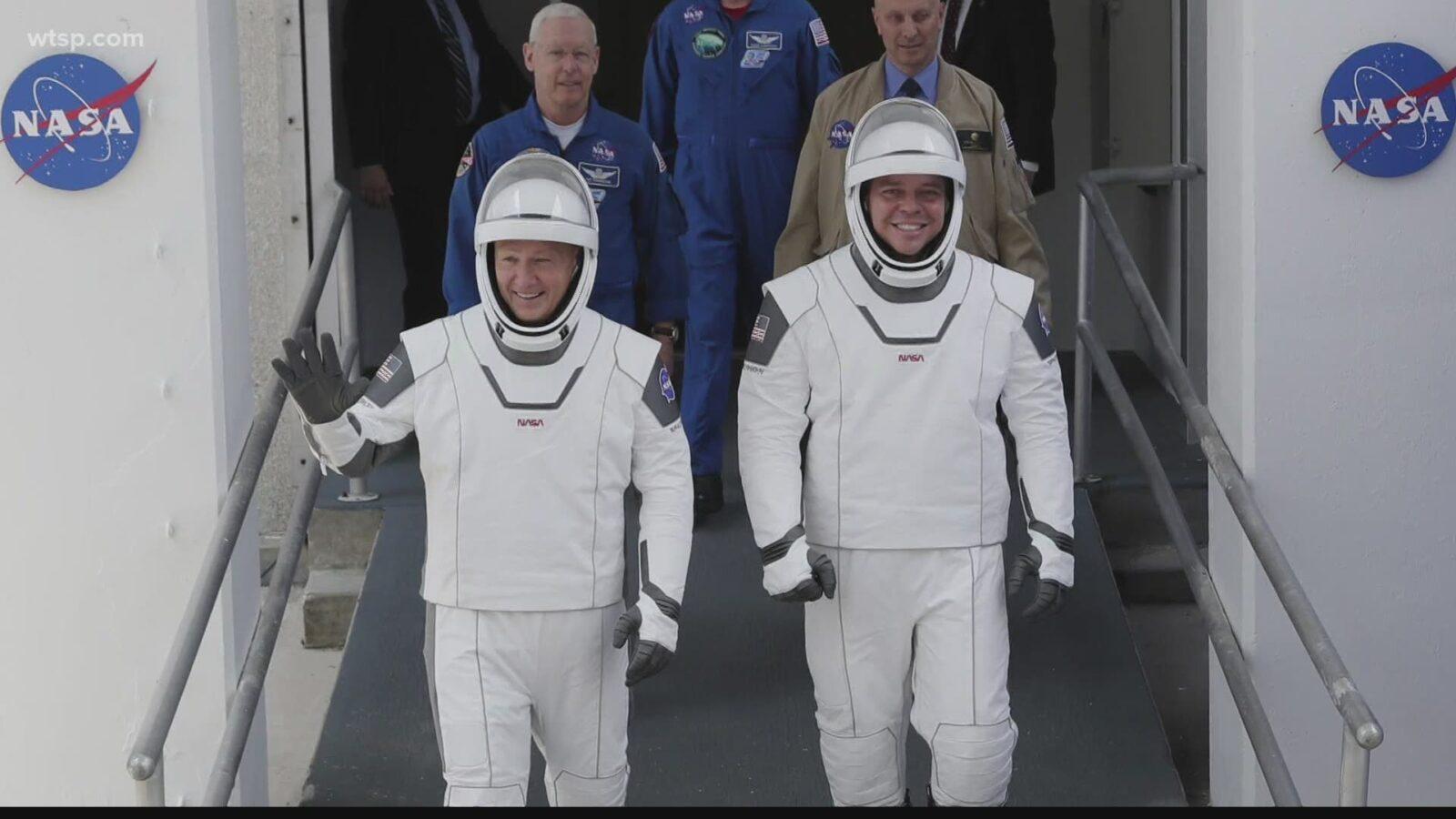 NASA canlı yayınlıyor! Crew Dragon'la ilk insanlı uçuş denemesi gerçekleşiyor