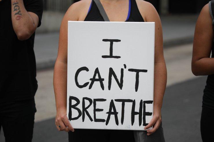 Washington'da Floyd protestosu