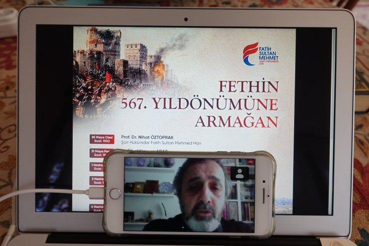 """""""Fatih Sultan Mehmed, divan sahibi sultan şairlerin ilkidir"""""""