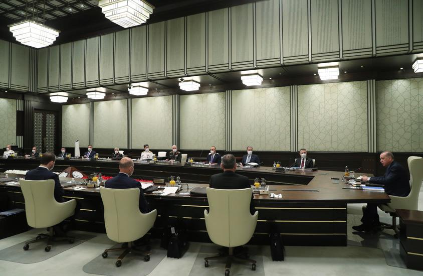 MGK toplantısı sonrası 5 maddelik bildiri yayınlandı