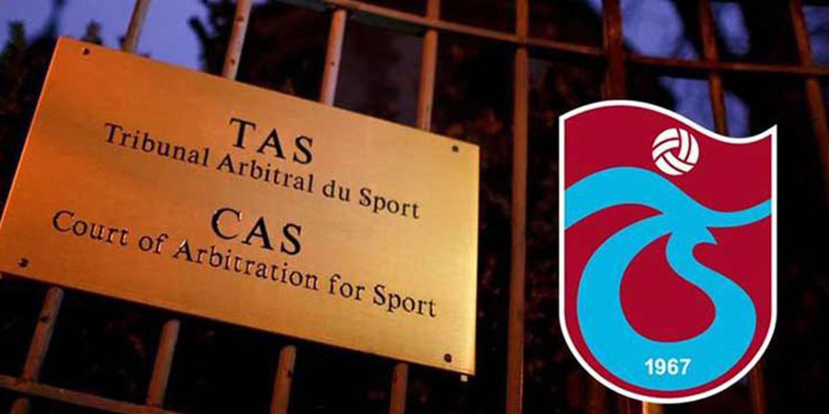 Reddedildi! CAS'tan Trabzonspor'a kötü haber