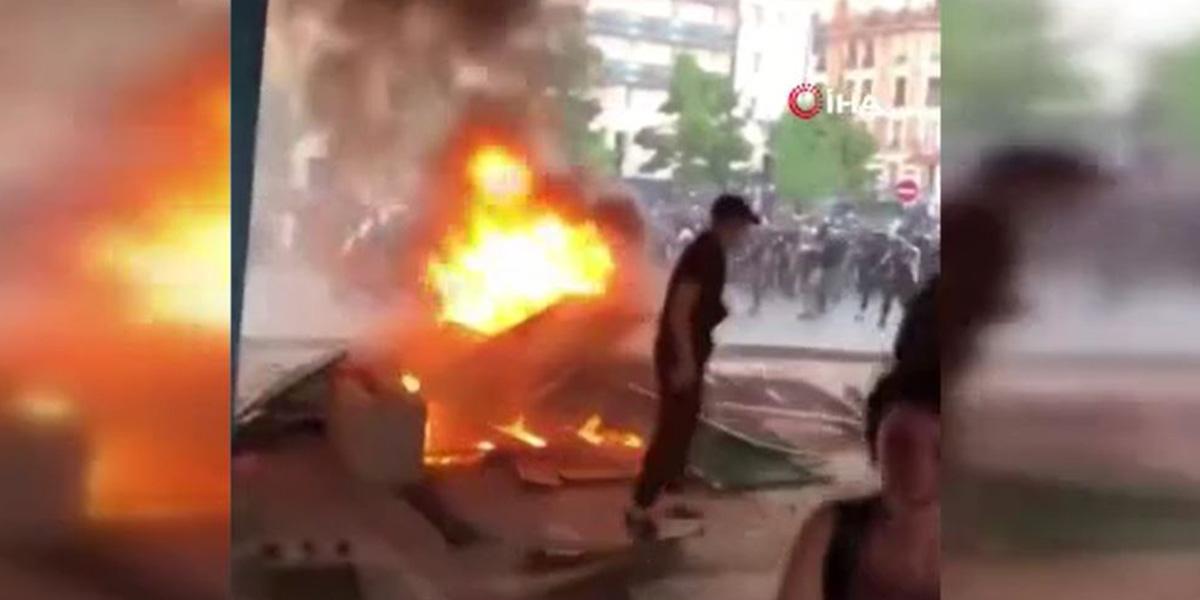 Irkçılık karşıtı protesto gösterileri Fransa'ya sıçradı