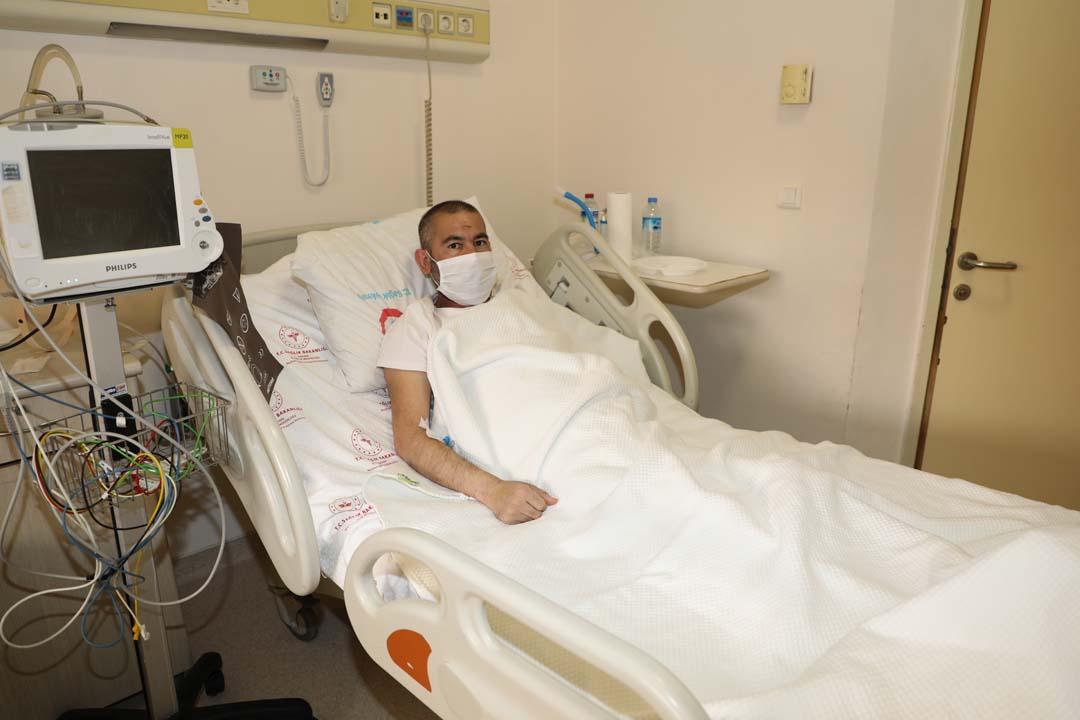 39 günlük korona tedavisinden sonra istediği şey doktoru bile şaşırttı!