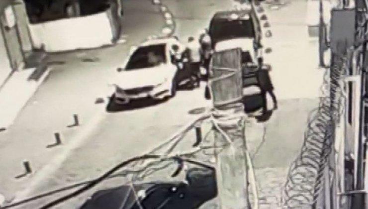 Beyoğlu'nda çete savaşları güvenlik kamerasında