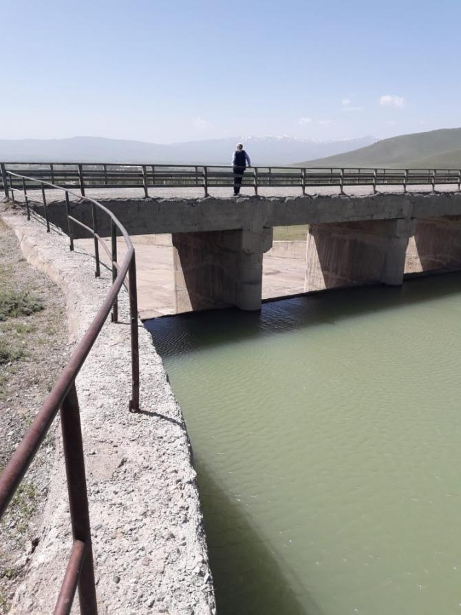 Demirdöven Barajı çiftçilerin yüzünü güldürmeye devam edecek