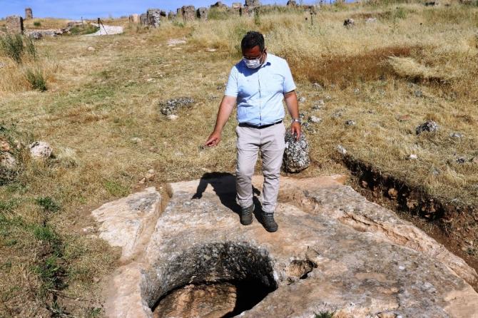 Zerzevan'daki su sarnıçları 3 bin yıldır tüm ihtişamını koruyor