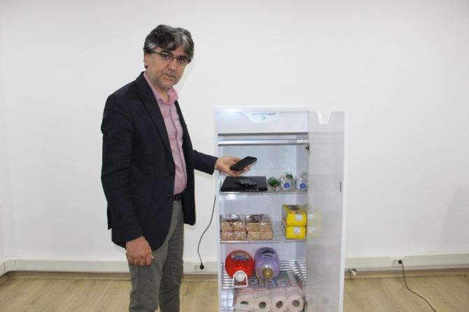 Karaman'da üretilen steril dolap, eşyaları virüslerden arındırıyor