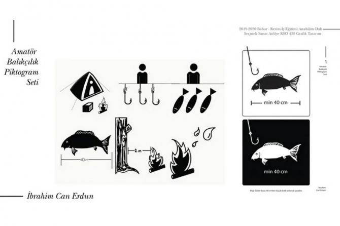 Öğrenciler sembole dayalı yazı sistemi ile kısa film hazırladı