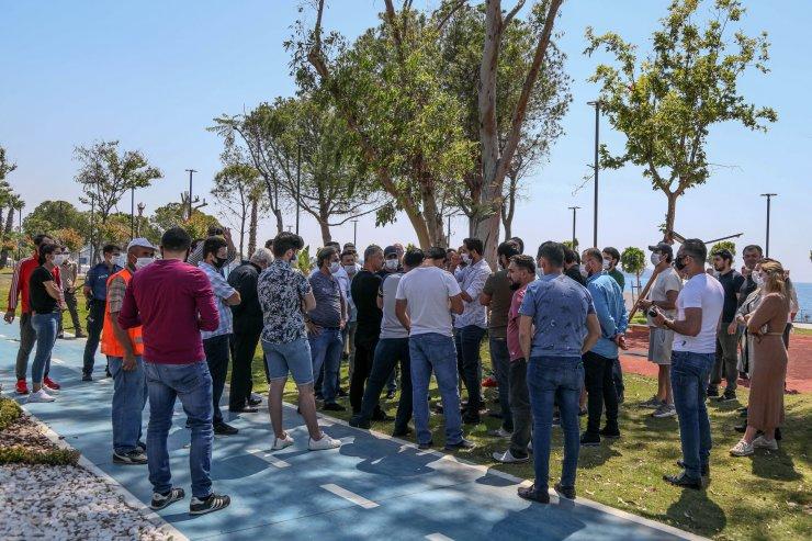Sahil Antalya Yaşam Parkı'nda yeşil alan krizi