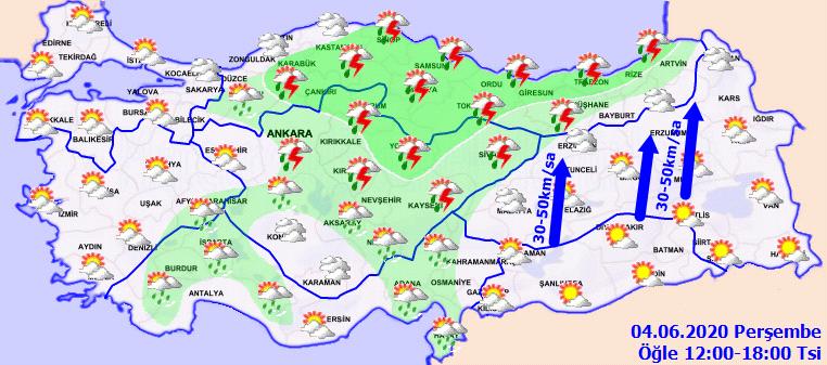 Sıcaklıklar artıyor ama Meteorolojiden o bölgelere sağanak uyarısı geldi