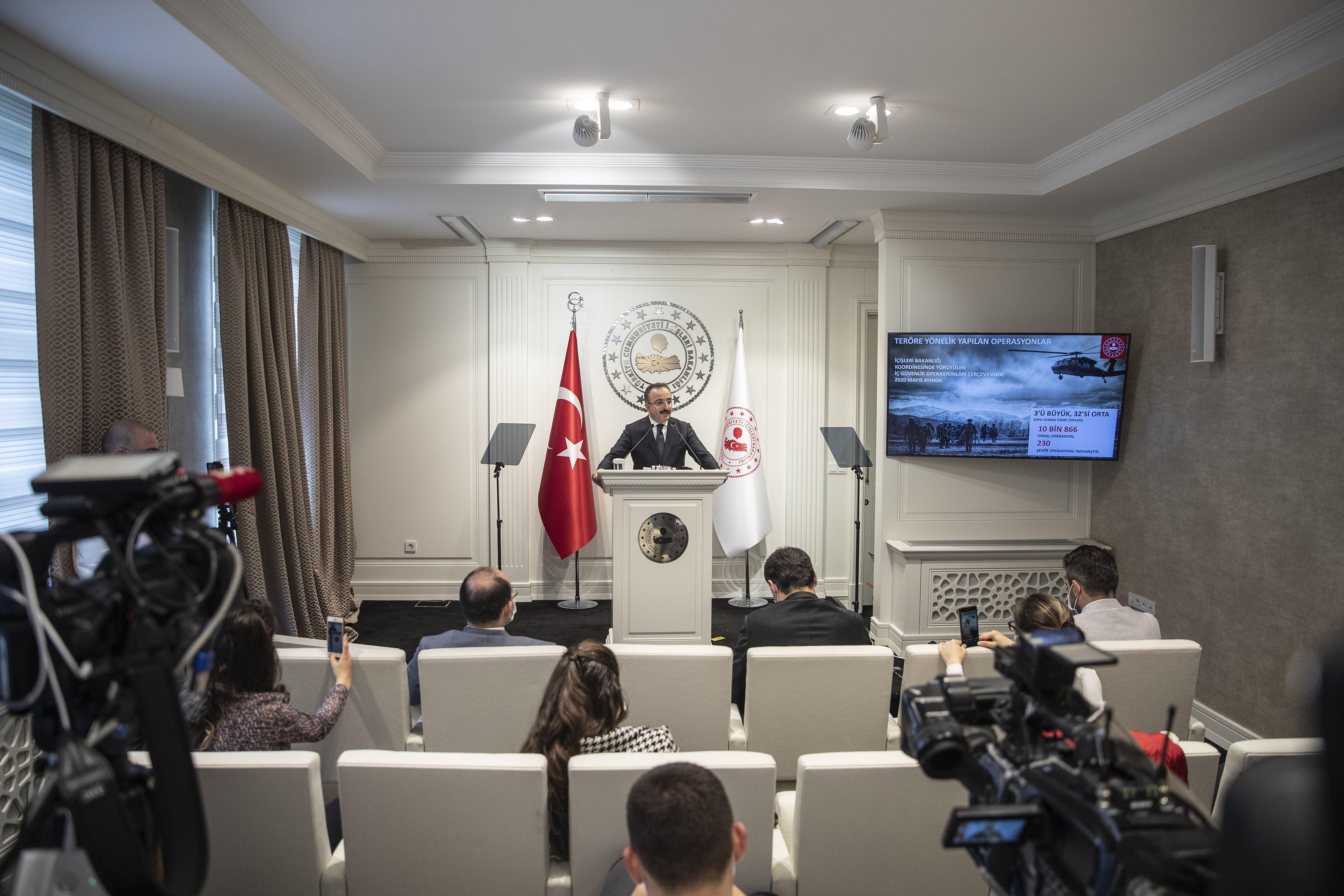 Çataklı açıkladı: Mayıs ayında 78 terörist etkisiz hale getirildi