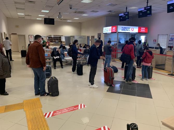 Merzifon Havalimanı'nda uçuş seferleri tekrar başladı