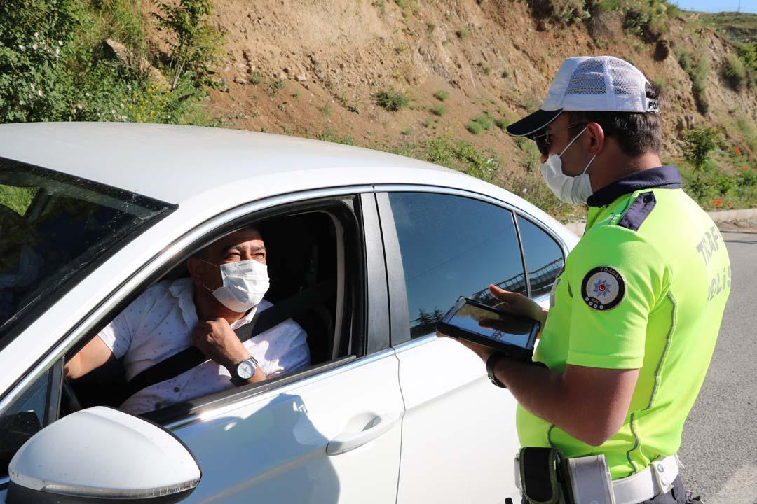 Yozgat'ta yoğun trafik nedeniyle denetimler arttı!