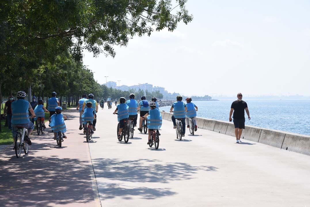 Pendik'te Babalar Günü'ne özel bisiklet etkinliği düzenlendi!