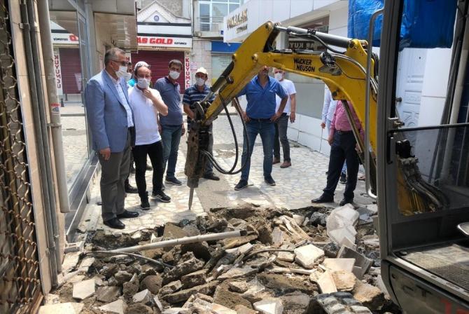 Tarihi Bedesten'de restorasyon çalışması başlattı