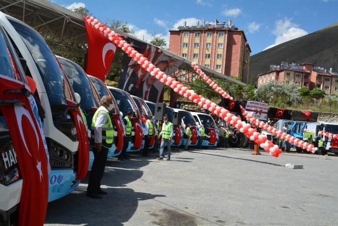 Hakkari Belediyesi filosunu güçlendiriyor