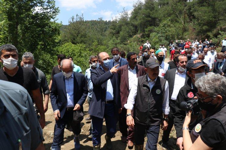 Cumhurbaşkanı Erdoğan, selde hayatını kaybeden kişilerin yakınlarıyla telefonda görüştü: