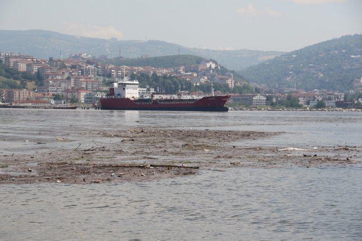 İzmit Körfezi'nden 128 metreküp atık toplandı