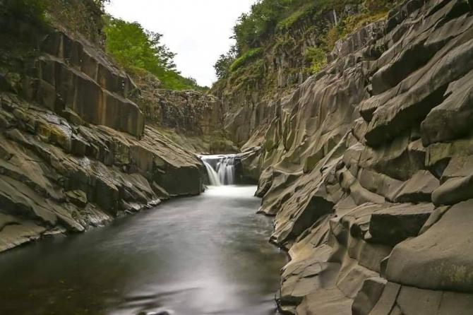 Küpkaya Kanyonu turizme açılıyor