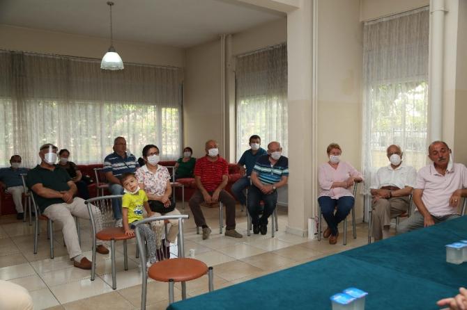 Başkan Atay Girne Mahallesi sakinleri ile bir araya geldi