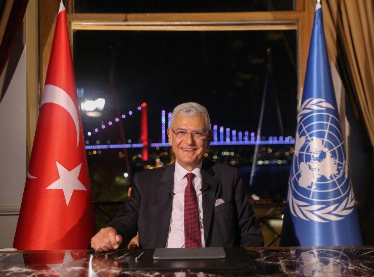 BM 75. Genel Kurul Başkanlığına seçilen Volkan Bozkır, kabul konuşması yaptı: (1)