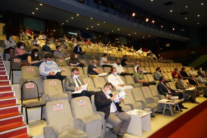 Çorlu Belediye Meclisi Haziran toplantısının ikinci oturumunu gerçekleştirdi