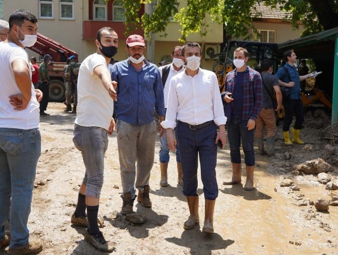 Kestel Belediyesi yaraları sarıyor