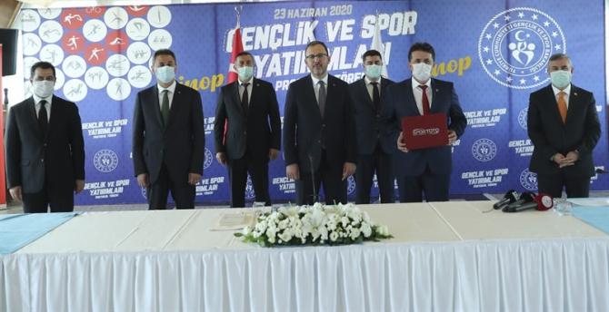 Sinop'a 19 milyon TL'lik spor yatırımı