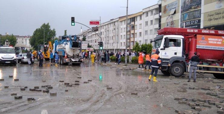 GÜNCELLEME 3 - İstanbul'daki yağış