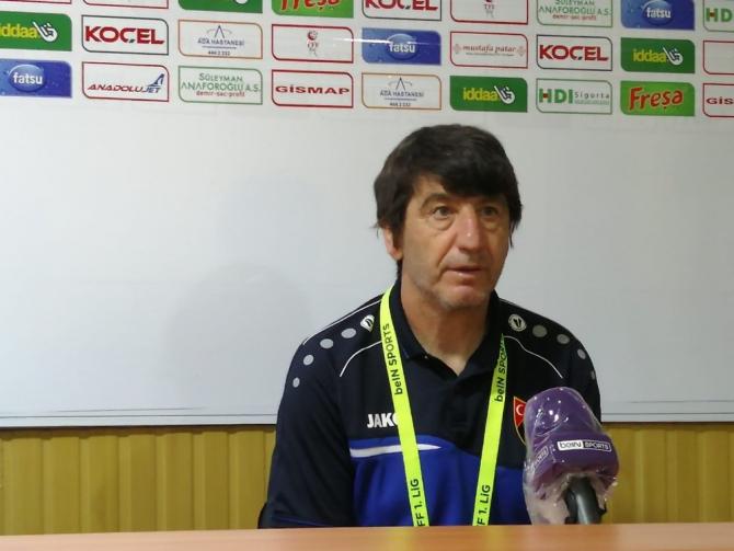 Giresunspor - İstanbulspor maçının ardından