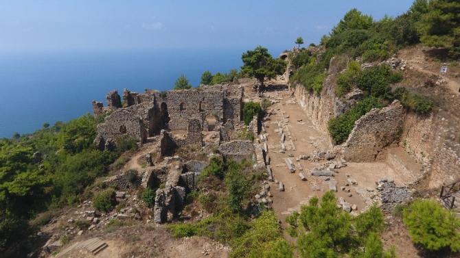 Syedra'da kazı çalışmalarının devamının bu sene 20 Temmuz tarihinde yapılması planlanıyor