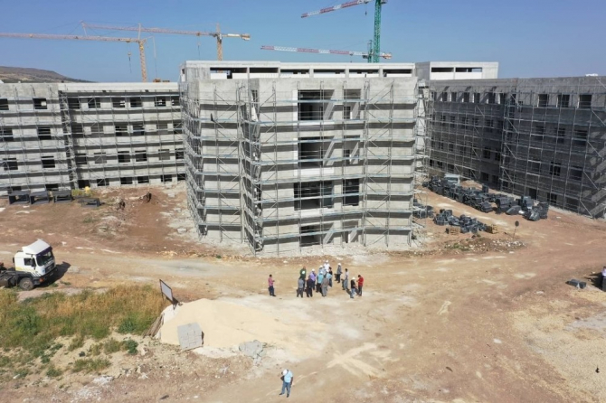 Yeni Devlet Hastanesi inşaatı hızlandı