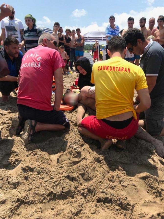 Kocaeli'de yaz sezonunun ilk haftasında 38 kişi boğulmaktan kurtarıldı