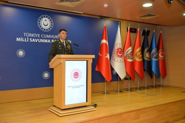 MSB'den sınır ötesi terörle mücadele faaliyetlerine ilişkin açıklama: