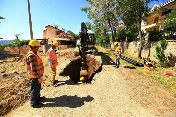 Fethiye'nin 127 milyonluk yatırımı devam ediyor