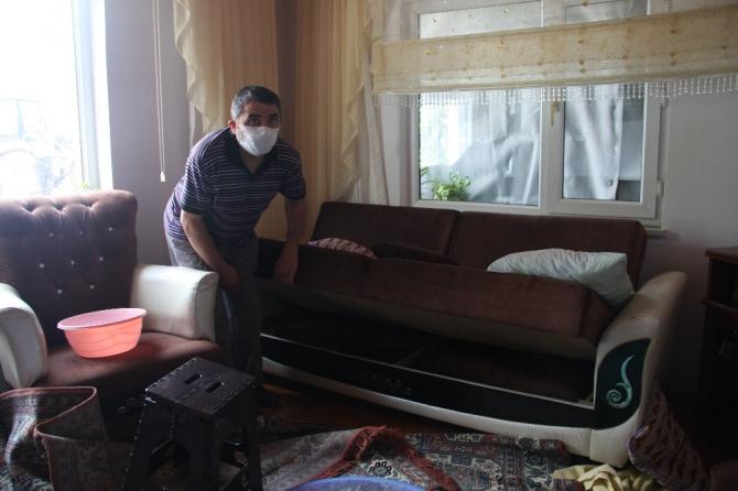 Çatalca'da oluşan hortum esnasında evlerinde olanlar yaşadıkları kabusu anlattı