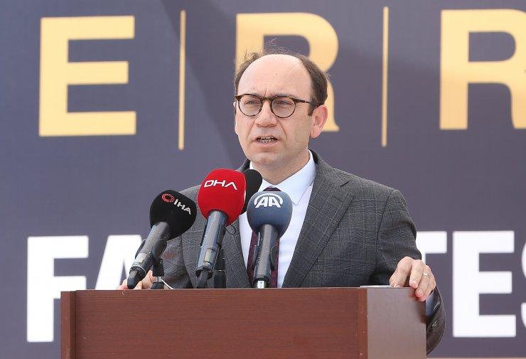 İÜC Veteriner Fakültesi Hayvan Hastanesi'nin yeni binasının temeli atıldı