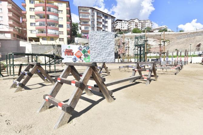 """Mamak Belediyesi'nden """"Macera Dolu Park"""""""