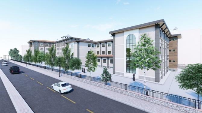 Manisa Kız Anadolu İmam Hatip Lisesi yeni binasına kavuşuyor