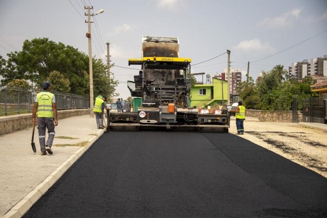 Esenbağlar Mahallesi yolu 15 yıl sonra asfaltlandı